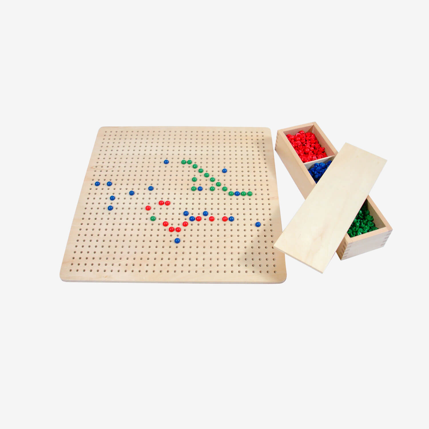 Algebraic Peg Board With Pegs