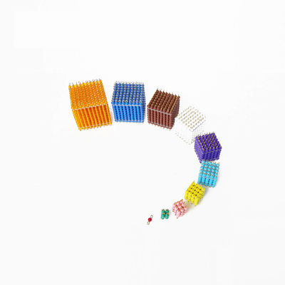 Colored Bead Cubes