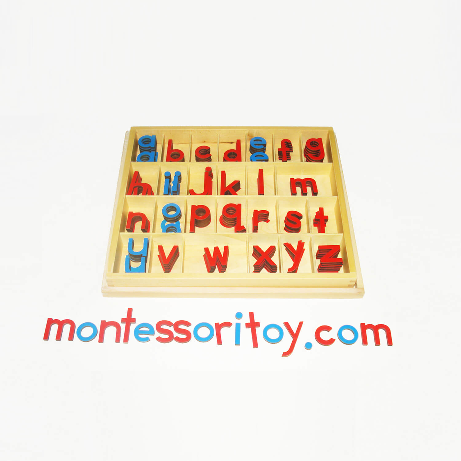 Small Movable Alphabet With Box