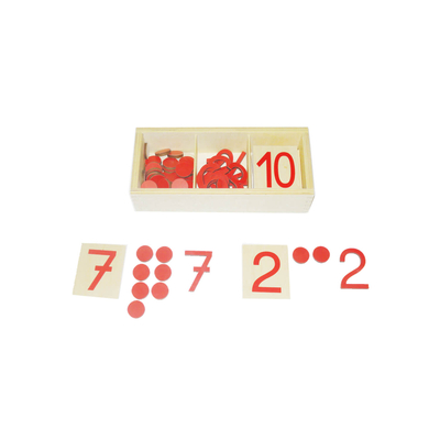 Cut-Out Numerals And Counters: German Verison